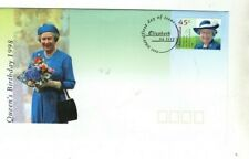 1998 AUSTRALIA - QUEEN'S BIRTHDAY FDC FROM COLLECTION 4/7