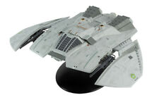 Battlestar Galactica Blood & Chrome Cylon Raider Ship & Magazine By Eaglemoss
