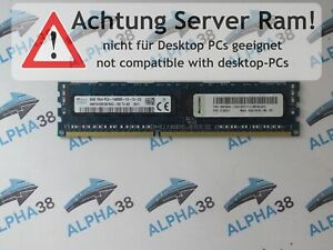 SK Hynix 8 GB DDR3-1866 PC3-14900R (DDR3-1866) HMT41GR7BFR4C-RD CL13 1,5 V RAM