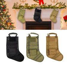 Outdoor Christmas Stocking Molle Tactical Sock Magazine Pouch Storage Xmas Gift