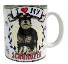 I Love my Schnauzer Mug Dye Sub Ceramic Mug 8Oz