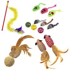 Cat Toys for Interactive and Independent Play - Choose from 5 Fun Toy Styles