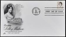 USA 1980 Dolley Madison FDC First Day Cover #C49366