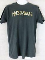 Breaking Bad Mens T-Shirt New Black Heisenberg Officially Licensed Free Shipping