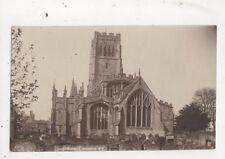 Northleach Church Vintage RP Postcard Percy Simms 624a