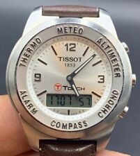 AUTHENTIC TISSOT 1853 T TOUCH SMART WATCH STAINLESS STEEL WITH SAPPHIRE CRYSTAL
