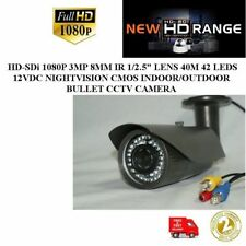 G5C-HD-SDi 1080P 3MP IR LENS 40M 42LEDS 12V NIGHTVISION IN/OUTDOOR BULLET CAMERA
