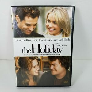 The Holiday (DVD, 2007) Diaz Winslet Law Black