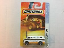 Matchbox - 49 City Action - Chevy Van - White Water & Power