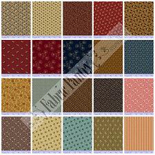 20 Civil War Reproduction Quilt Fabric Fat Quarters JUDIE'S ALBUM QUILT- Marcus