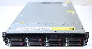 HP StorageWorks LeftHand P4300 G2 iSCSI SAN Array w/ 8x HP 1TB 7.2K SAS HDD