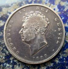 More details for 1825 george iv silver half crown #546