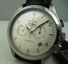 ZENITH EL PRIMERO GRAND CLASS CRONOMETER Acciaio Nuovo !  LIMITED EDITION NEW