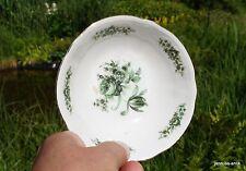 piccolo Vassoio d = 13 cm 4 cm alto Seltmann Weiden Wien verde Rosa
