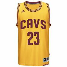Adidas Cleveland Cavaliers Lebron James Swingman Jersey Gold Large L