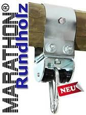 Schaukelschelle für Rundholz  Ø 10 cm mit MARATHON Rollengelenk