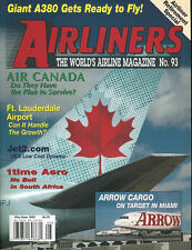 AIRLINERS 93 AIR CANADA / ARROW CARGO / AIRBUS A380 / SOUTH AFRICA 1TIME / FT LA
