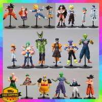 20pcs Dragon Ball Z Super Son Goku Action Figure Toys Collection 1/2 Generation