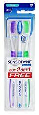 Sensodyne Tooth Brush Soft Gentle on Teeth For Men & Women - Pack of 3