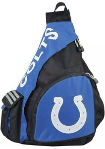 NWT NFL Indianapolis Colts Leadoff Slingbag Sling School Gym Travel Backpack