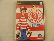 New ! Where's Waldo The Fantastic Journey for XP/Vista -2009 PC Game