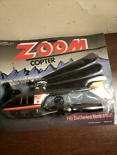 Vintage ZOOM Copter Complete Sealed Package Helicopter Toy w Pull Cord Launcher