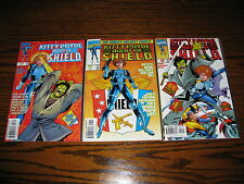Marvel - Kitty Pryde Agent of Shield 1 - 3 Complete Series! 1997 Glossy Vf