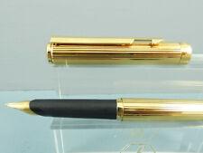 "Vintage Parker Arrow Gold Plated ""Filete"" Fountain Pen,14K Nib,Box,1987 *Nr MINT"