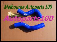 Blue silicone radiator hose for Toyota Landcruiser HZJ75 / HZJ78 / HZJ79