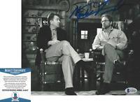 MARK FROST - TWIN PEAKS CREATOR - SIGNED 8x10 PHOTO DAVID LYNCH BECKETT COA BAS
