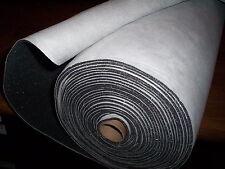 "SUEDE Headliner FOAM BACK Upholstery Fabric PLATNUM SILVER 36"" x 61"" SUEDE Craft"