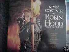Robin Hood Laser Disc Set Kevin Costner