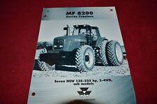 Massey Ferguson 8220 8240 8245 8250 8260 8270 Tractor Dealers Brochure GDSD2