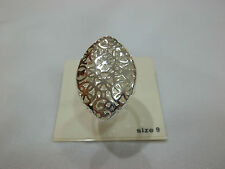 Plated Ring Size 9. It'S Gorgeous New City by City Cbc Pure Silver