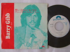 PROMO WHITE LABEL / BARRY GIBB I'LL KISS YOUR MEMORY / 7INCH PS 45RPM / THIS TI