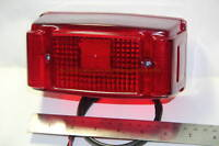 Yamaha RX125 RXS RXK RXKing RX135 Taillight New Steel Back Body Motorcycle Parts