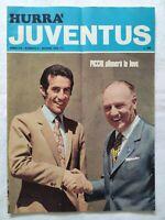 HURRA' JUVENTUS N. 6 GIUGNO 1970 PICCHI SHEFFIELD SWINDON CATELLA RISCHIATUTTO