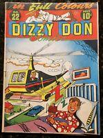 🍁 Dizzy Don Comics #22 ( Dizzy Don Enterprises, Toronto, 1946 ) Canadian White