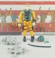 Original 1989 GI JOE SCOOP V1 ARAH not complete UNBROKEN figure Cobra