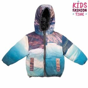 RRP €145 SP1 Puffer Jacket Size 9-12M / 78CM Padded Printed Hooded