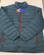 Columbia Mens Large Thermal Coil Mystery Blue Jacket NEW with TAGS