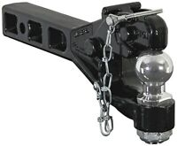 """Buyers RM62516 6-Ton Combination Pintle Hook With 2-5/16"""" Chrome Ball Hitch"""