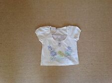 New With Tags Cream Floral Top By Tesco In Size Age 12 To 18 Mths