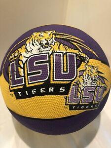 Baden LSU Tigers Logo Basketball Full Size  Purple/Gold Go Tigers