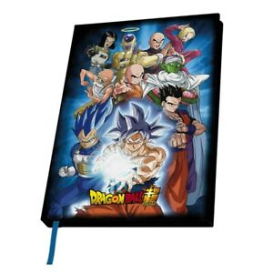 Genuine Dragon Ball Z Universe 7 A5 Hardback Journal Notebook Pad Warriors Goku
