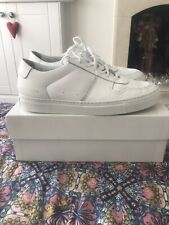 COMMON PROJECTS BBALL WHITE LOW TRAINERS EU41 fits UK