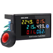 Digital Lcd Voltage Current Energy Power Panel Meter Ac 40 300v 100a Voltmeter