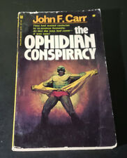 The Ophidian Conspiracy by John F Carr (1978, Paperback)