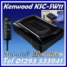 Nuovo di Zecca Kenwood KSC-SW11 Sub Con Costruito In Amp, kit di cablaggio Include