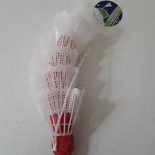 Pack of 6 Birdies Badminton Sports Set Shuttlecocks Plastic Outdoor Game